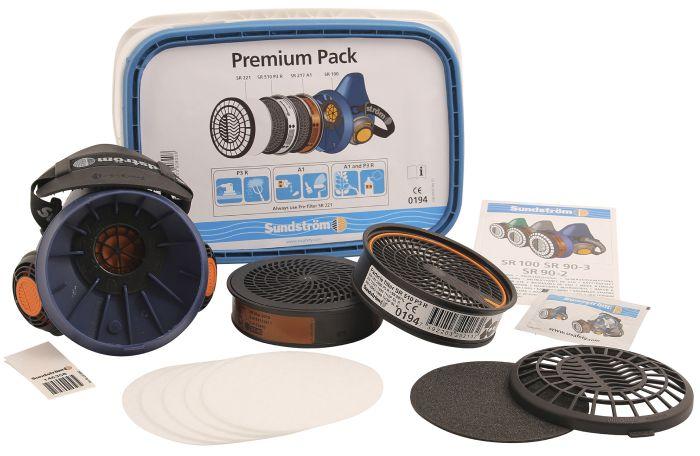 Puolinaamari Sundström Premium Pack