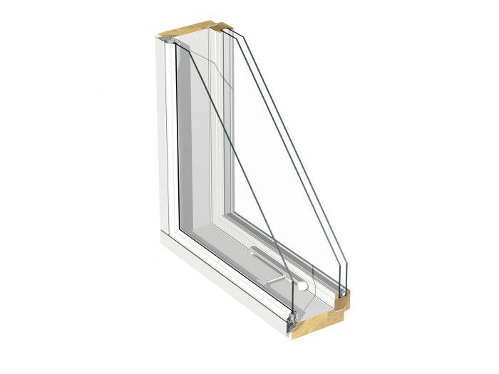 Ikkuna Puumerkki Karelia MSEALU Valkoinen 12 x 12