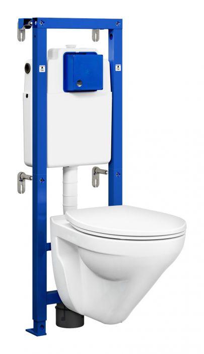 Seinä-WC paketti Gustavsberg Triomont All-in-one Nordic3