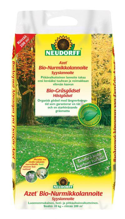Bio-Nurmikkolannoite syksy 10 kg