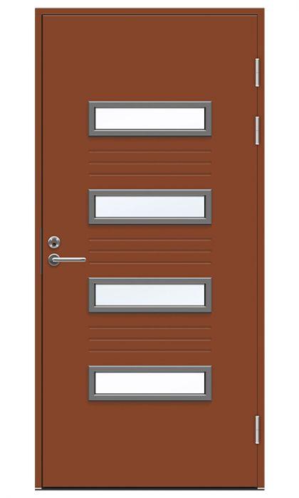 Ulko-ovi Swedoor Function F2054 W53 Tiilenpunainen