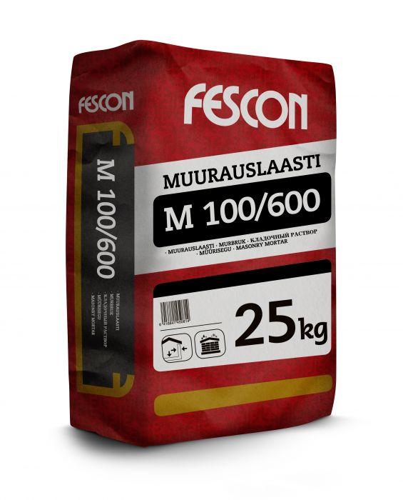 Muurauslaasti Fescon M 100/600 25 kg