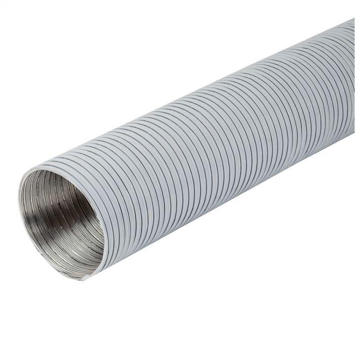 IV-putki Europlast Valkoinen ⌀125 mm x 3 m