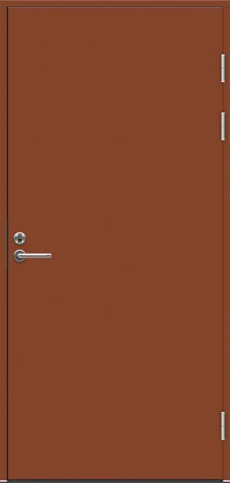 Ulko-ovi Swedoor Function F2090 Tiilenpunainen