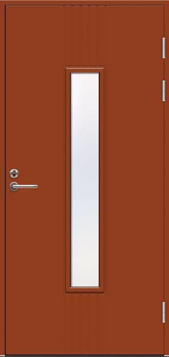 Ulko-ovi Swedoor Function F2050 W28 Tiilenpunainen