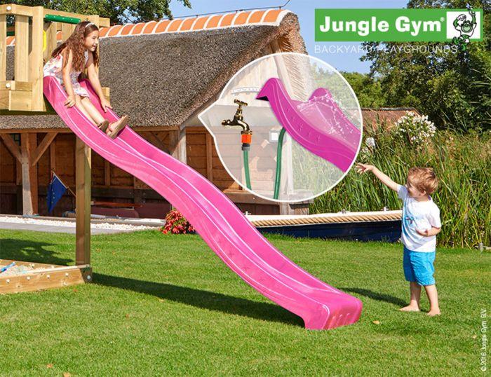 Liukumäki Jungle Gym 2,65 m pinkki