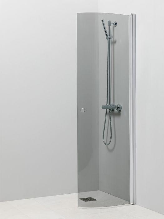 Kääntyvä suihkuseinä Vihtan Pisara 4 Harmaa