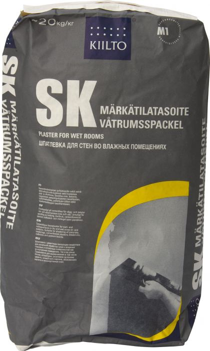 Märkätilatasoite Kiilto SK 20 kg