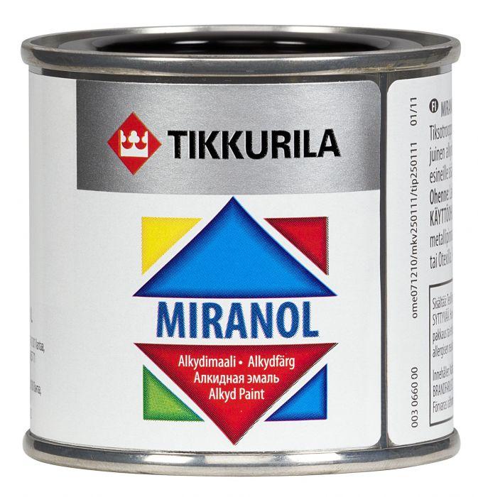 Alkydimaali Tikkurila Miranol 0456 Pullonvihreä