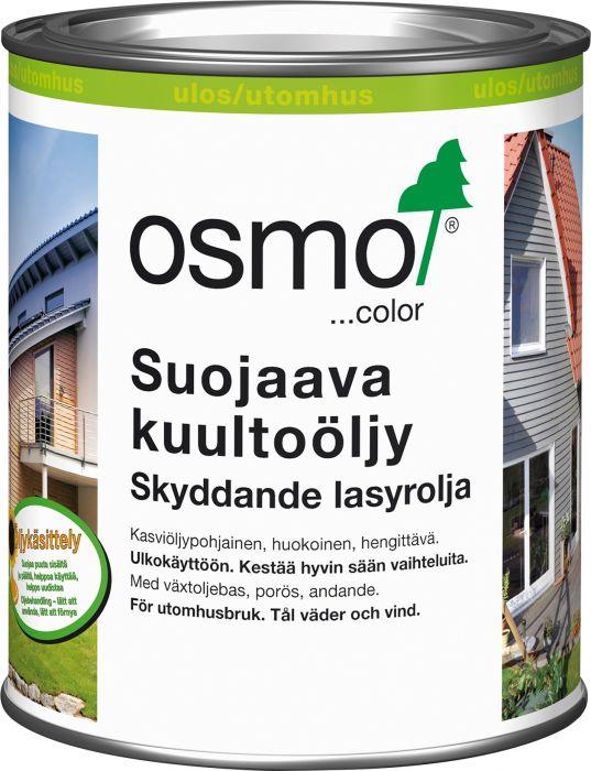 Suojaava Kuultoöljy Osmocolor 900 Valkoinen 0,75 l