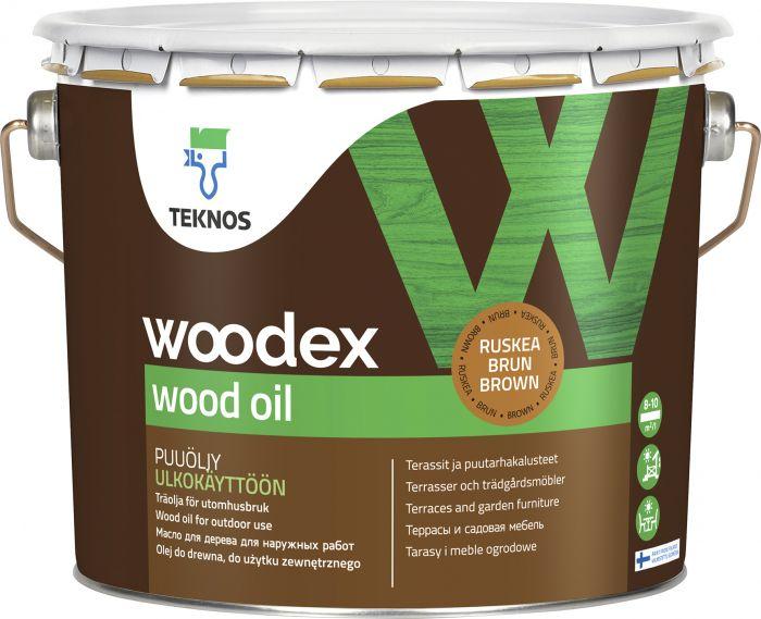 Puuöljy Teknos Woodex Wood Oil Ruskea