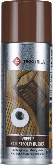 Kalusteöljy Tikkurila Valtti Ruskea 400 ml