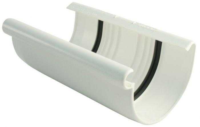 Kourujen liitoskappale Marley 75 mm Valkoinen
