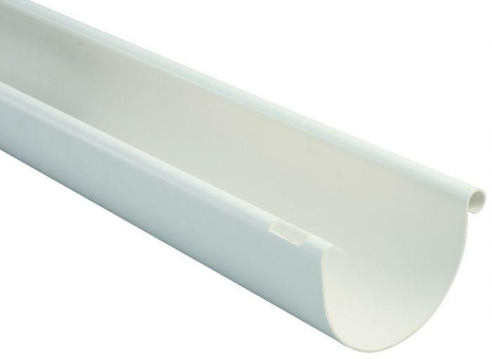 Puolipyöreä räystäskouru Marley  75 mm 2 m Valkoinen