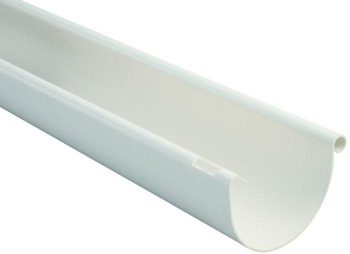 Puolipyöreä räystäskouru Marley  75 mm 3 m Valkoinen