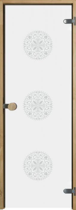 Saunan lasiovi Swedoor OrnamentW Leppäkarmi