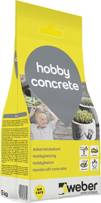 Askartelubetoni Weber Hobby Concrete Valkobetoni 5 kg