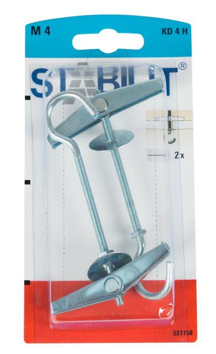 Jousitulppa N 4 Stabilit KD 4 H K 95 mm
