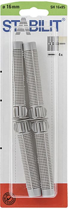 Seulaholkki Stabilit SH 16 x 85 mm 5 kpl/pkt