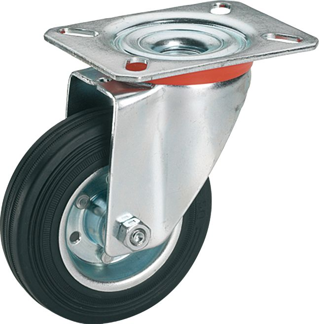 Kalustepyörä Stabilit 200 x 50 mm, max. 210 kg