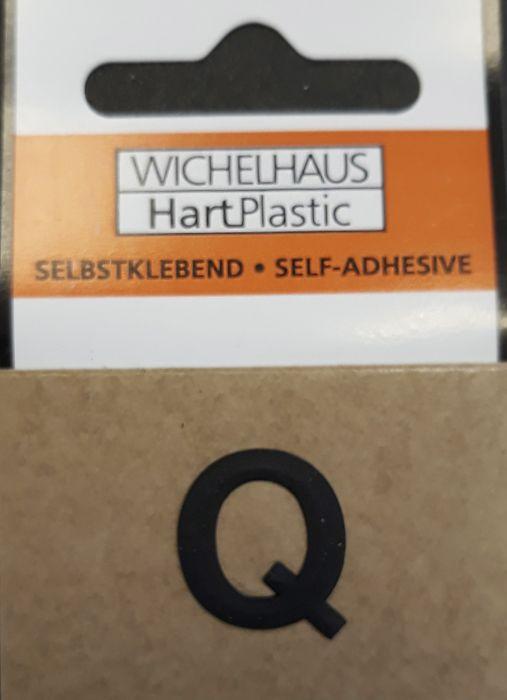 Kirjain Wichelhaus HartPlastic Musta 15 mm Q
