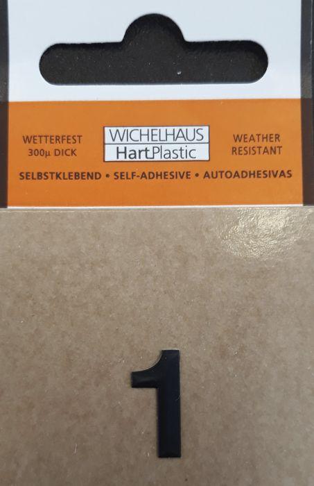 Numero Wichelhaus HartPlastic Musta 15 mm 1