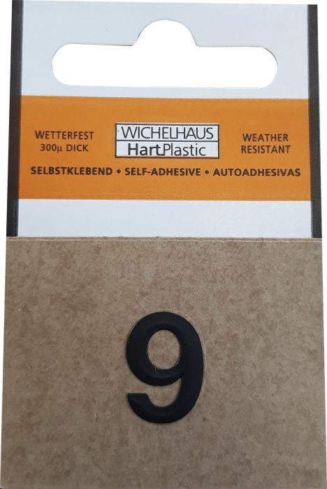 Numero Wichelhaus HartPlastic Musta 15 mm 9