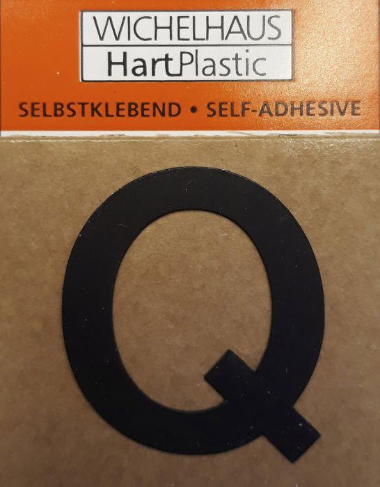 Kirjain Wichelhaus HartPlastic Musta 30 mm Q