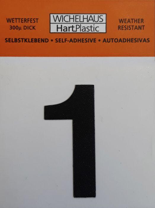 Numero Wichelhaus HartPlastic Musta 30 mm 1