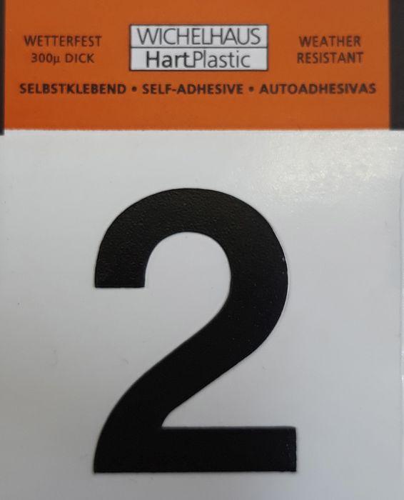 Numero Wichelhaus HartPlastic Musta 30 mm 2