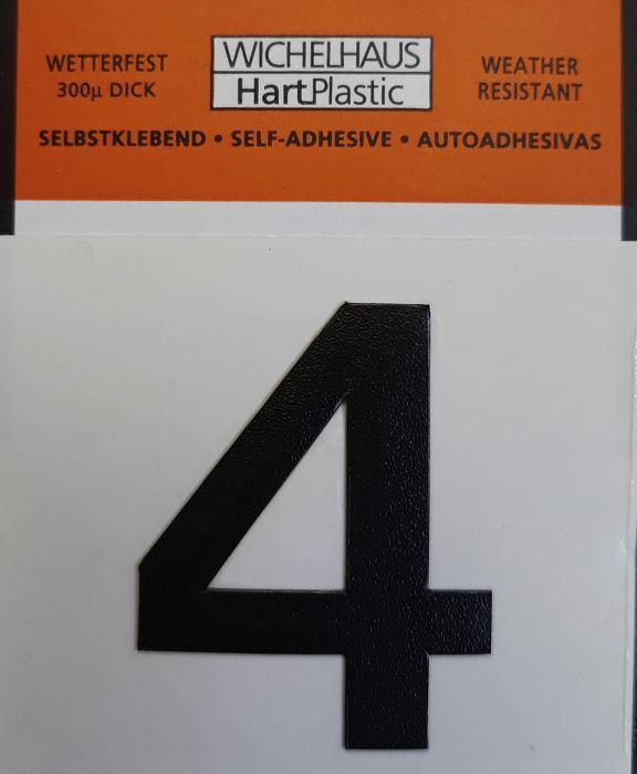 Numero Wichelhaus HartPlastic Musta 30 mm 4