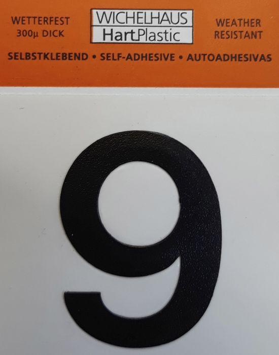 Numero Wichelhaus HartPlastic Musta 30 mm 9