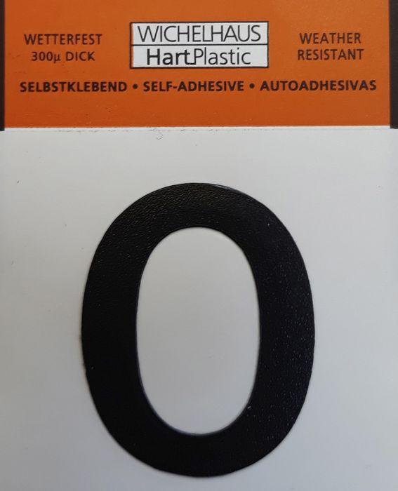 Numero Wichelhaus HartPlastic Musta 30 mm 0