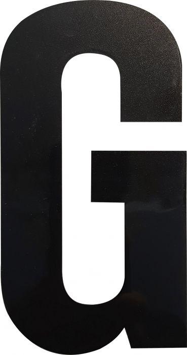 Kirjain Wichelhaus HartPlastic Musta 100 mm G