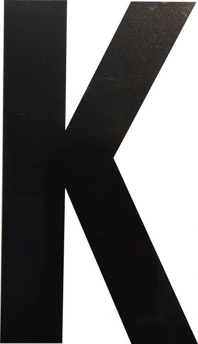 Kirjain Wichelhaus HartPlastic Musta 100 mm K