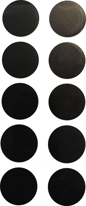 Merkki Wichelhaus HartPlastic Musta 100 mm Piste 10 kpl/pkt