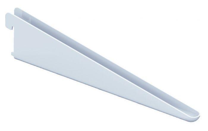 U-kannatin Alumiini harmaa 32 cm
