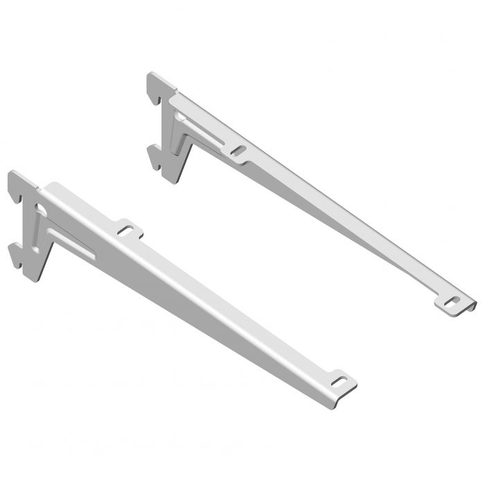 Kulmakannatin Element System Clip Valkoinen 23 cm