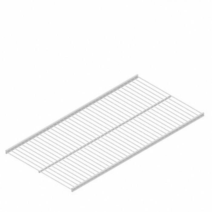 Ritilähylly Regalux Valkoinen 900 x 310 mm