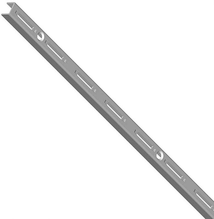 Seinäkisko alumiini harmaa 200 cm