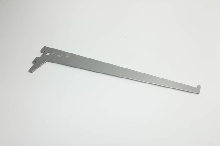 Ritilähyllyn kannatin Harmaa Alumiini 30 cm