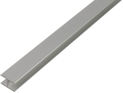 H-profiili Alumiini 9,9 x 22 x 1,5 mm 1 m