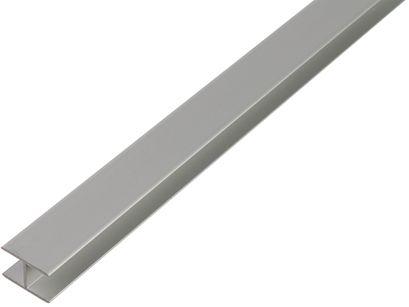 H-profiili Alumiini 5,9 x 20 x 1,5 mm 2 m