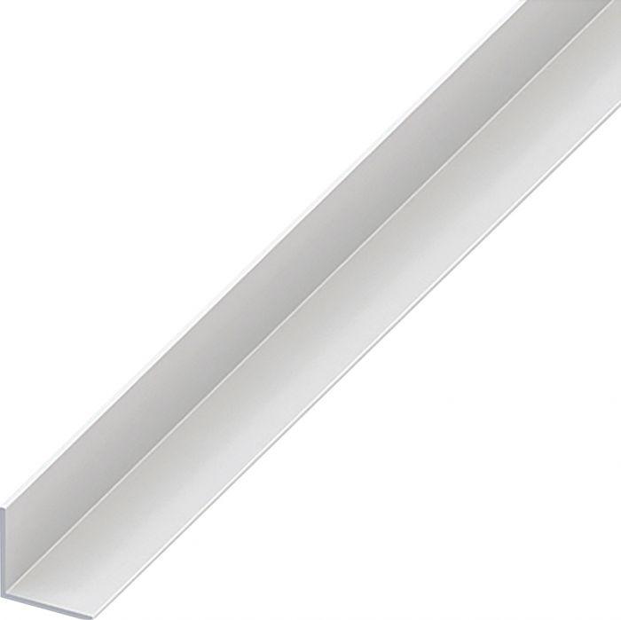 Kulmaprofiili Tasasivuinen Valkoinen 20 x 20 x 2000 mm