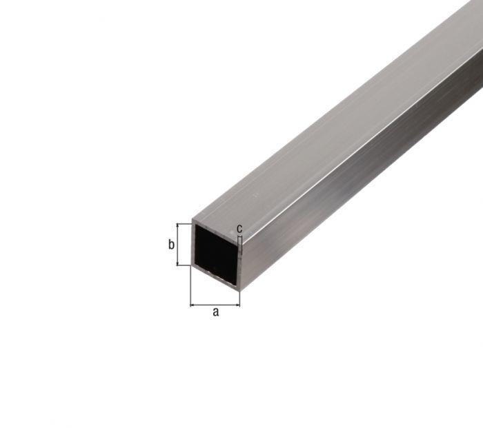 Neliöputki Kantoflex 20 x 20 x 1,5 mm x 1 m