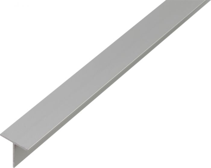 T-Lista Kantoflex Alumiini 20 x 20 x 2 mm 1 m