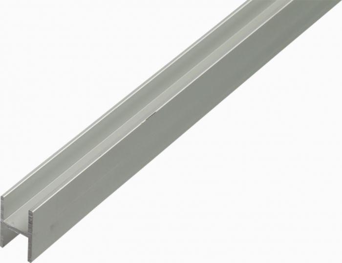 H-Lista Kantoflex Alumiini 13,5 x 22 x 1,5 mm 2 m