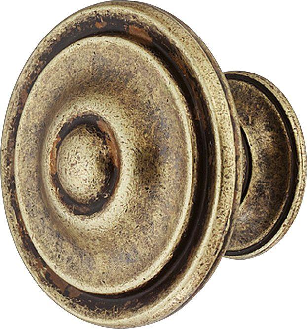 Nuppi Häfele Ruskea 30 x 22 mm