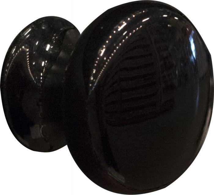 Nuppi Häfele Musta 18 x 25 mm