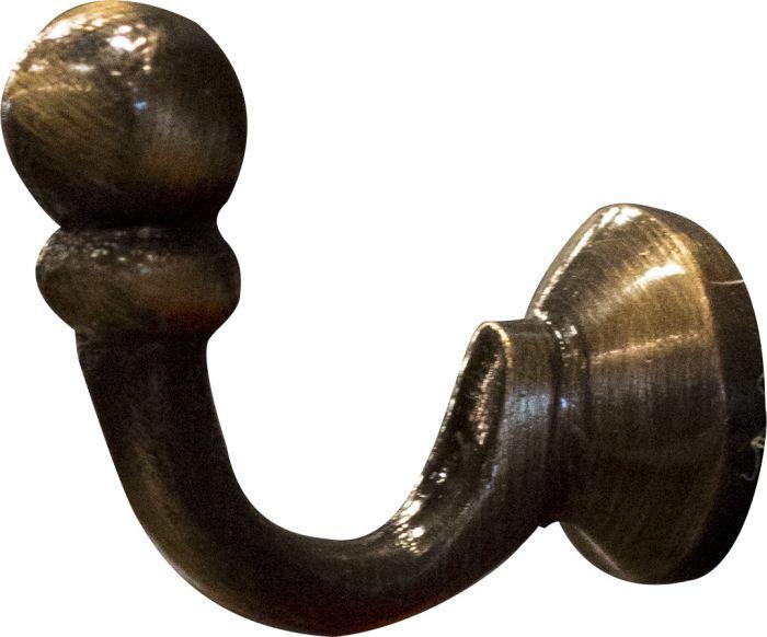 Koukku Häfele Antikkimessinki 30 mm